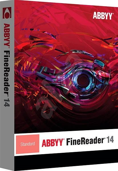 ABBYY FineReader 14 Standard (elektronická licence) - OCR software