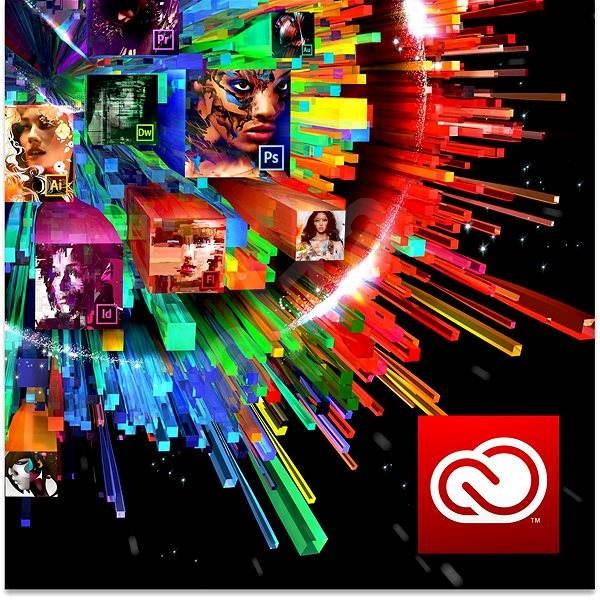 Adobe Creative Cloud for teams All Apps MP ML (vč. CZ) Commercial (12 měsíců) RENEWAL (elektronická  - Grafický software