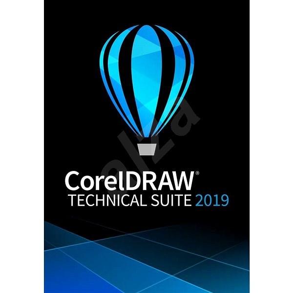 CorelDRAW Technical Suite předplatné na 1 rok pro jednoho uživatele (elektronická licence) - Elektronická licence