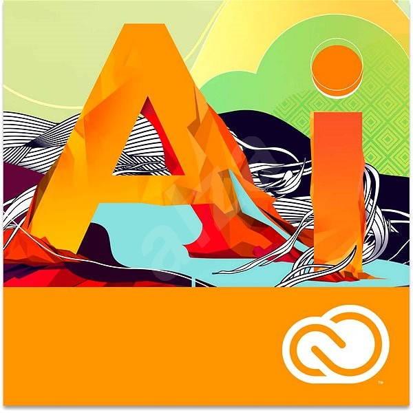 Adobe Illustrator Creative Cloud MP ENG Commercial (1 měsíc) (elektronická licence) - Grafický software