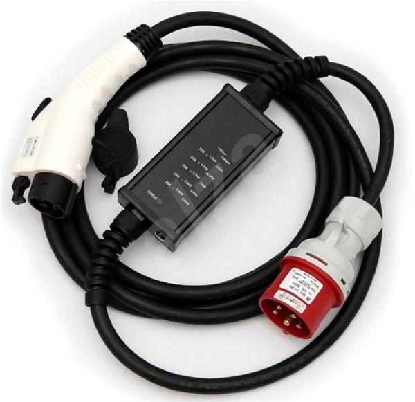 Typ 1(Yazaki) / CEE (230V) - 32A - 5m - Nabíjecí kabel