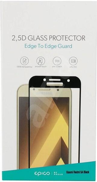 Epico Glass 2.5D pro Xiaomi Redmi 5a černé - Ochranné sklo
