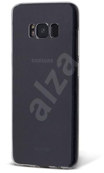 Epico Ronny Gloss pro Samsung Galaxy S8+ bílý transparentní - Ochranný kryt