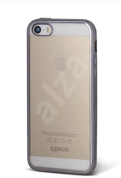 Epico Bright pro iPhone 5 5S SE Space Gray - Kryt na mobil f4a07413135
