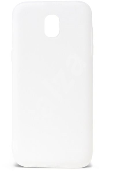 Epico Silk Matt pro Samsung Galaxy J3 (2017) - bílý transparentní - Kryt na mobil