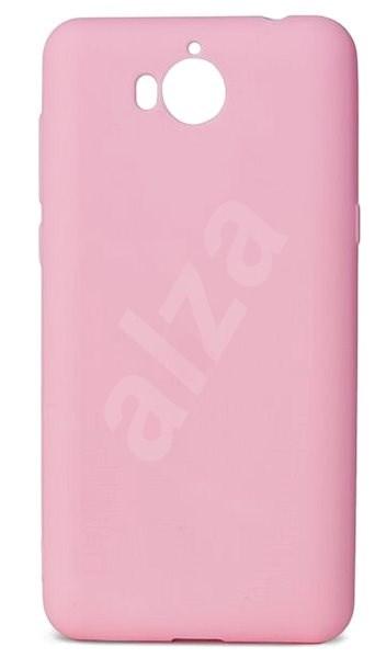 Epico Silk Matt pro Huawei Y6 (2017) - růžový - Kryt na mobil