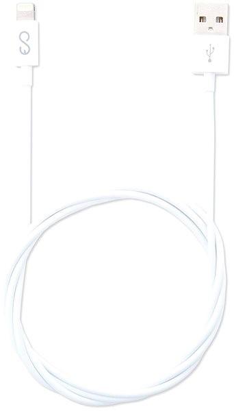 Epico Lightning MFI 1m bílý - Datový kabel