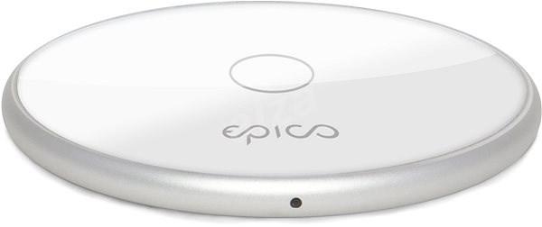 Epico Wireless Charger 10W/7.5W/5W - bílá (s adaptérem) - Bezdrátová nabíječka