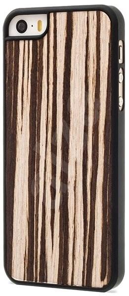 Epico dřevěný kryt Veneer Makasar pro iPhone 5 5S SE - Ochranný kryt ... 21c8f584658