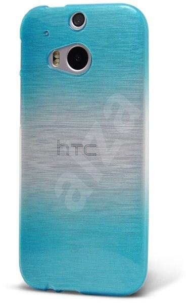 Epico Rainbow String pro HTC One M8 - modro-stříbrný - Ochranný kryt