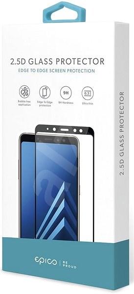 Epico Glass 2.5D pro Huawei P20 Lite - černé - Ochranné sklo