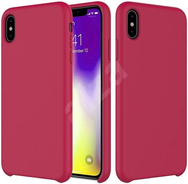 Epico Silicone pro iPhone XR - tmavě růžová - Kryt na mobil