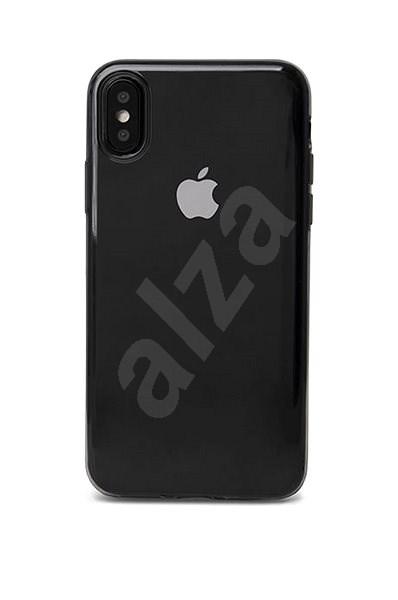 Epico Twiggy Gloss pro iPhone X/ iPhone XS - bílý transparentní - Kryt na mobil