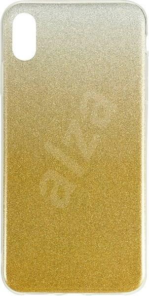 Epico Gradient pro iPhone XS Max - zlatý - Kryt na mobil