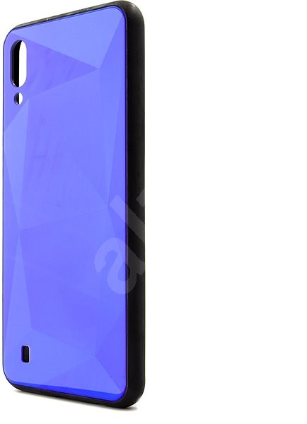 Epico COLOUR GLASS CASE Samsung Galaxy M10 - modrý - Kryt na mobil