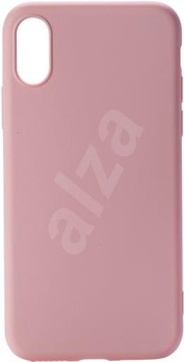 Epico CANDY SILICONE CASE iPhone X/XS - světle růžový - Kryt na mobil