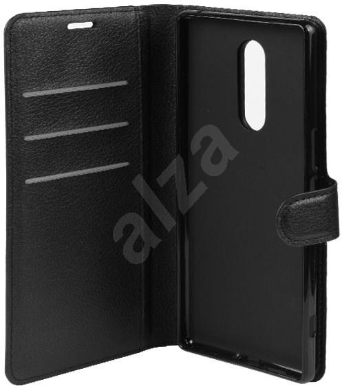 Epico FLIP CASE Sony Xperia 1 - černé - Pouzdro na mobilní telefon