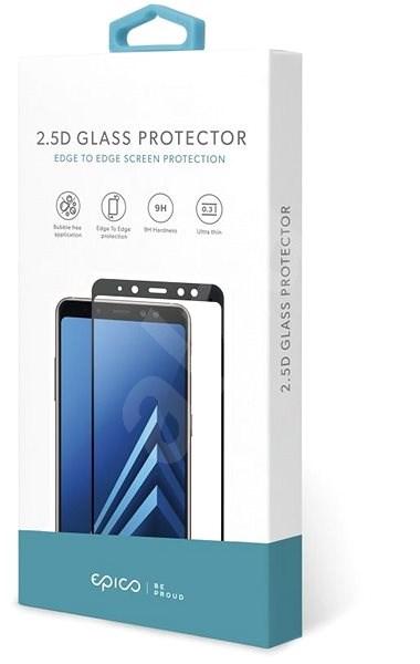 Epico Glass 2.5D pro Samsung Galaxy A70 - černá - Ochranné sklo