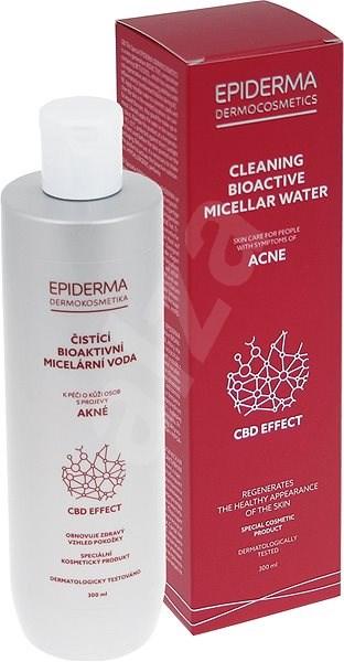 EPIDERMA bioaktivní CBD čisticí bioaktivní micelární voda 300 ml - Micelární voda