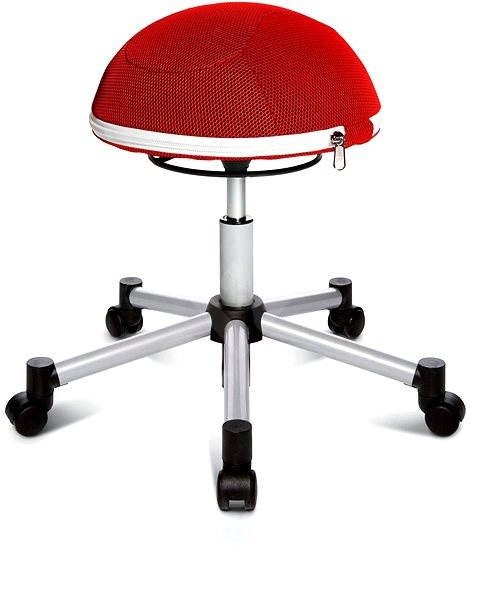 TOPSTAR Sitness Half Ball červená - Stolička