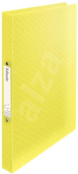 ESSELTE Colour´Ice dvoukroužkové žluté - Kroužkové desky