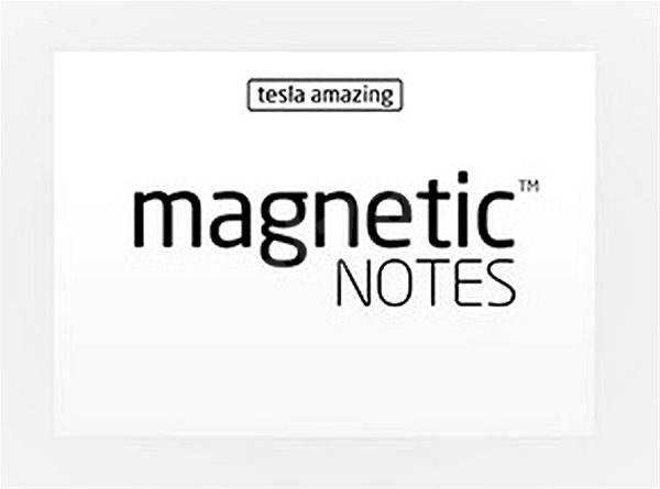 Tesla Amazing Notes S bílé - Papírové bločky