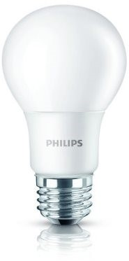 Philips LED 6-40W, E27, 6500K, Mléčná - LED žárovka