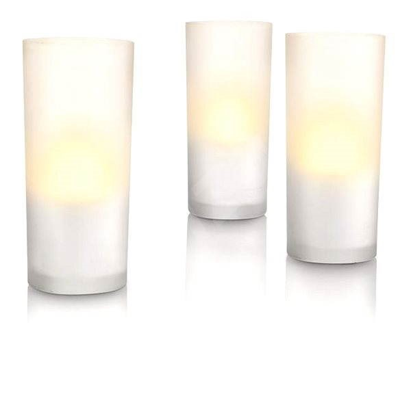 Philips CandleLights 3L 69108/60/PH - Lampa