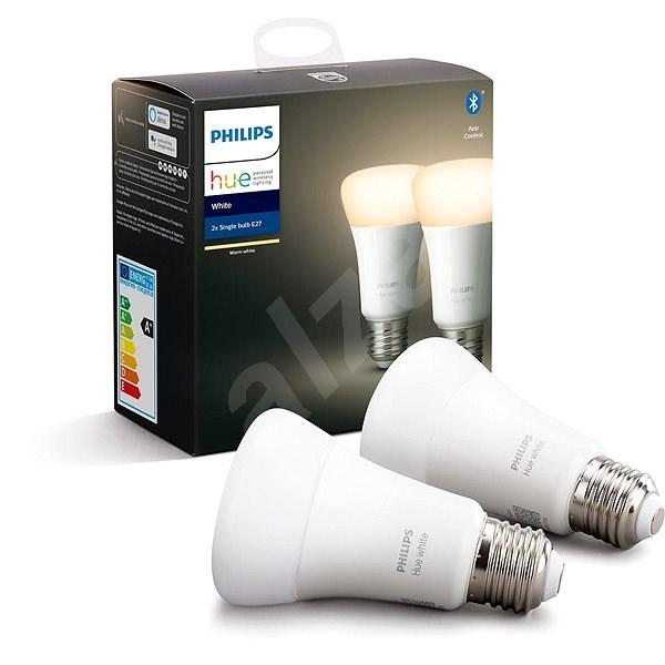 Philips Hue White 9W E27 set 2ks - LED žárovka