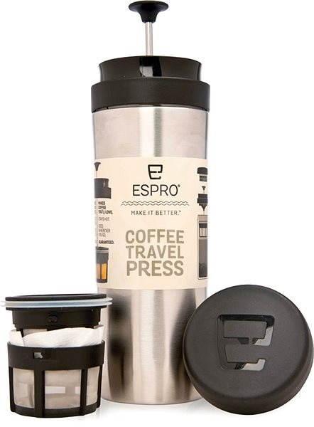 ESPRO Travel Press nerez - French press