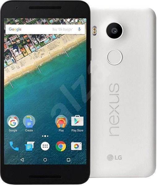 LG Nexus 5x 32GB Quartz - Mobilní telefon
