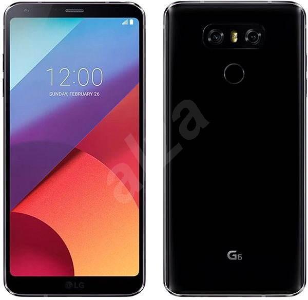 b66748af2 LG G6 Black - Mobilní telefon | Alza.cz