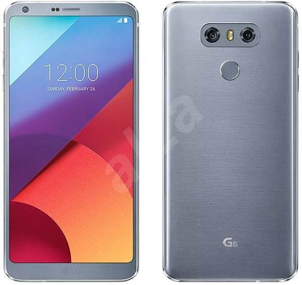 f0cf7cc52 LG G6 Platinum - Mobilní telefon | Alza.cz