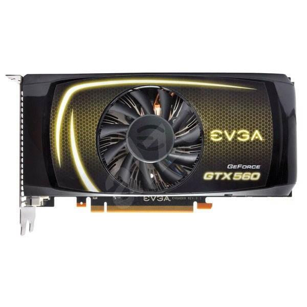 EVGA GeForce GTX560 SuperClocked - Grafická karta