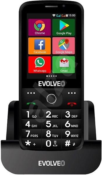 EVOLVEO EasyPhone AD černý - Mobilní telefon