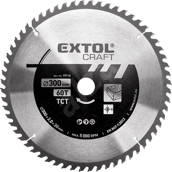 EXTOL CRAFT 19116 - Pilový kotouč