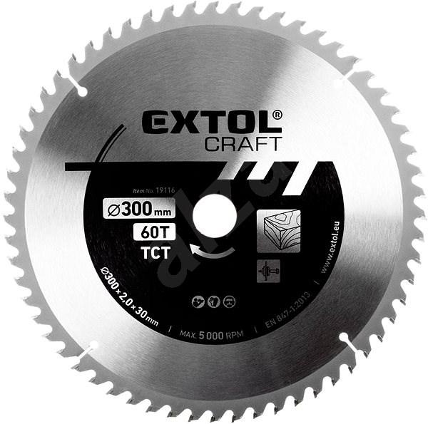 EXTOL CRAFT 19119 - Pilový kotouč