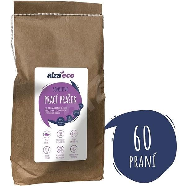 AlzaEco Prací prášek Sensitive 3 kg (60 praní) - Eko prací prášek