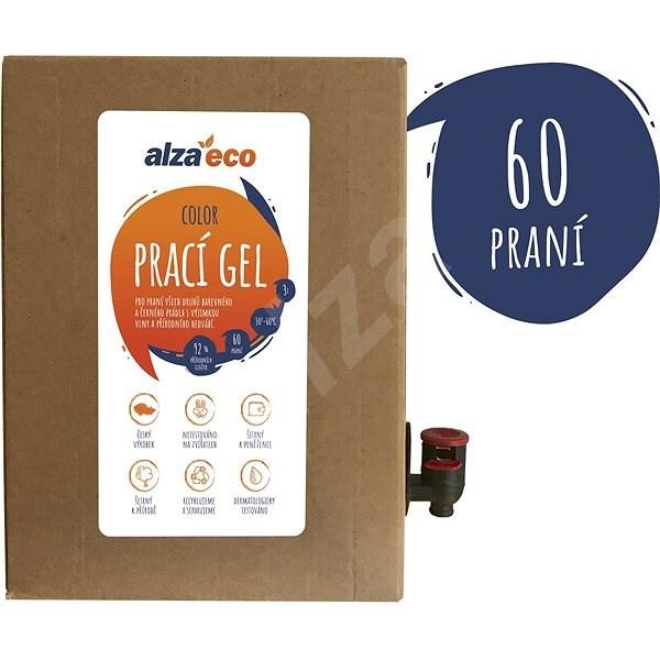 AlzaEco Prací gel Color 3 l (60 praní) - Eko prací gel