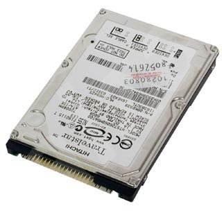 """Hitachi 2.5"""" Travelstar 80GN 80GB, 4200ot, 12ms, 8MB, 9.5mm - Pevný disk"""