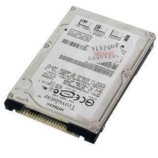 """Pevný disk 2,5palce Hitachi 2.5"""" Travelstar 7K320, 120GB, SATA - Pevný disk"""
