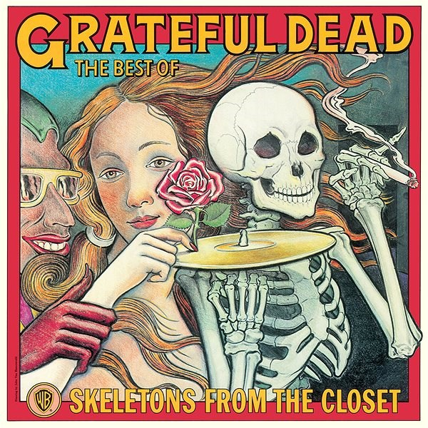 Grateful Dead: The Best Of: Skeletons From The Closet - LP - LP vinyl