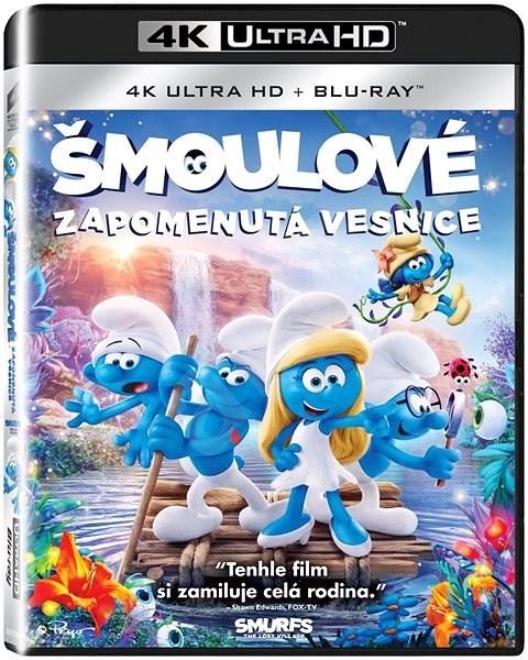 Šmoulové: Zapomenutá vesnice (2 disky) - Blu-ray + 4K Ultra HD - Film na Blu-ray