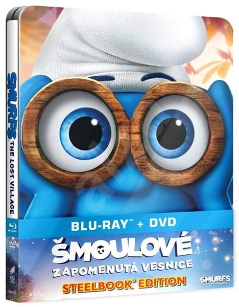 Šmoulové: Zapomenutá vesnice steelbook (BD + DVD) - Blu-ray - Film na Blu-ray