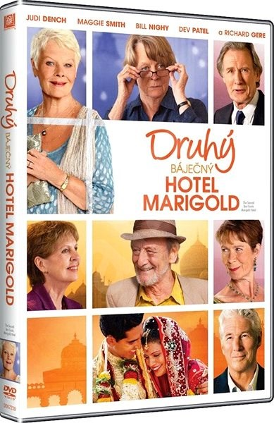 Druhý báječný hotel Marigold - DVD - Film na DVD