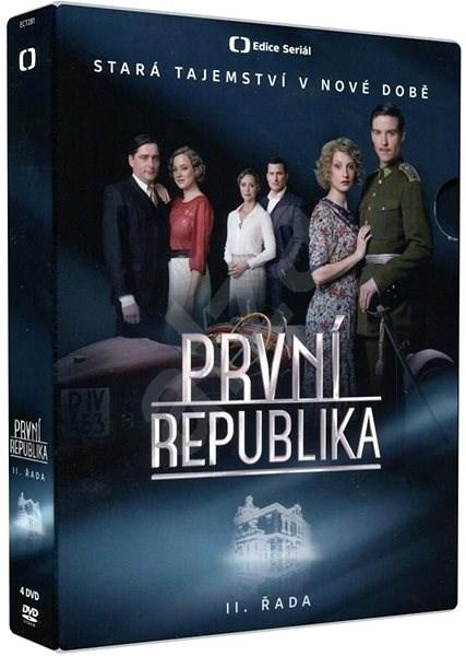 První republika - II. řada (4DVD) - DVD - Film na DVD