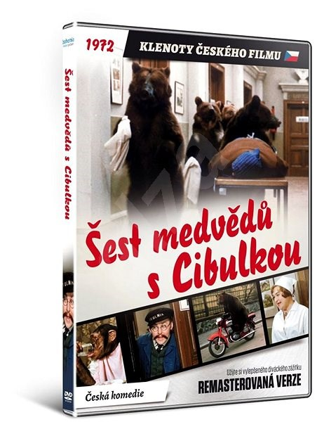 Šest medvědů s Cibulkou - edice KLENOTY ČESKÉHO FILMU (remasterovaná verze) - DVD - Film na DVD