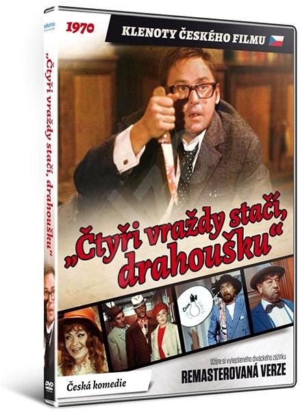 """""""Čtyři vraždy stačí, drahoušku"""" - edice KLENOTY ČESKÉHO FILMU (remasterovaná verze) - DVD - Film na DVD"""