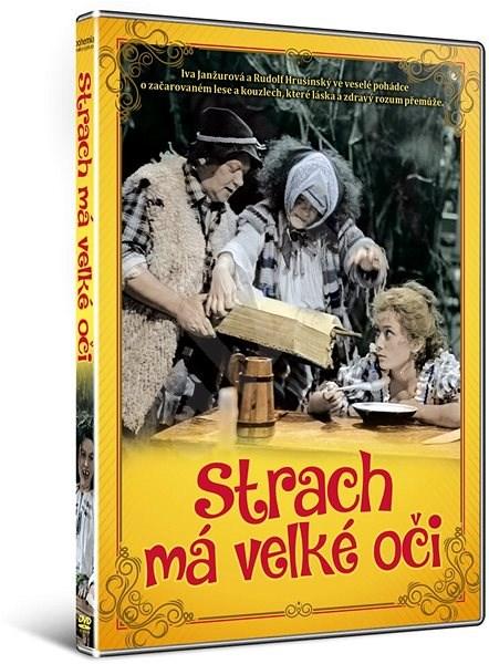Strach má velké oči - DVD - Film na DVD