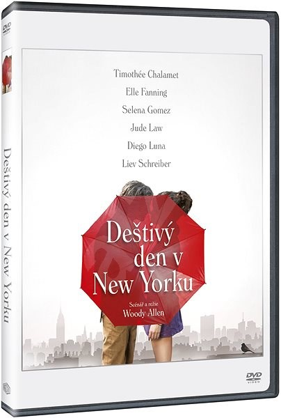 Deštivý den v New Yorku - DVD - Film na DVD